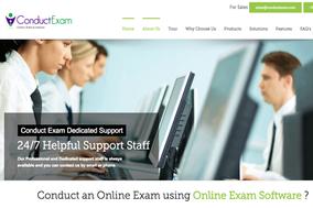 Conduct Exam screenshot