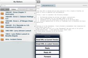 iManage screenshot