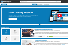 LearnUpon screenshot