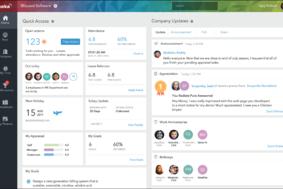 Keka HR screenshot