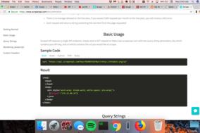 Scraper API screenshot