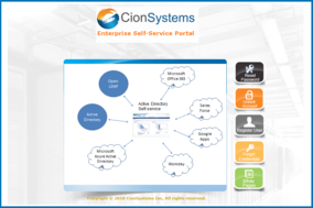 Enterprise Self Service screenshot