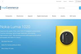 nopCommerce screenshot