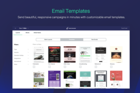 Benchmark Email screenshot