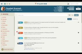 Filevine screenshot