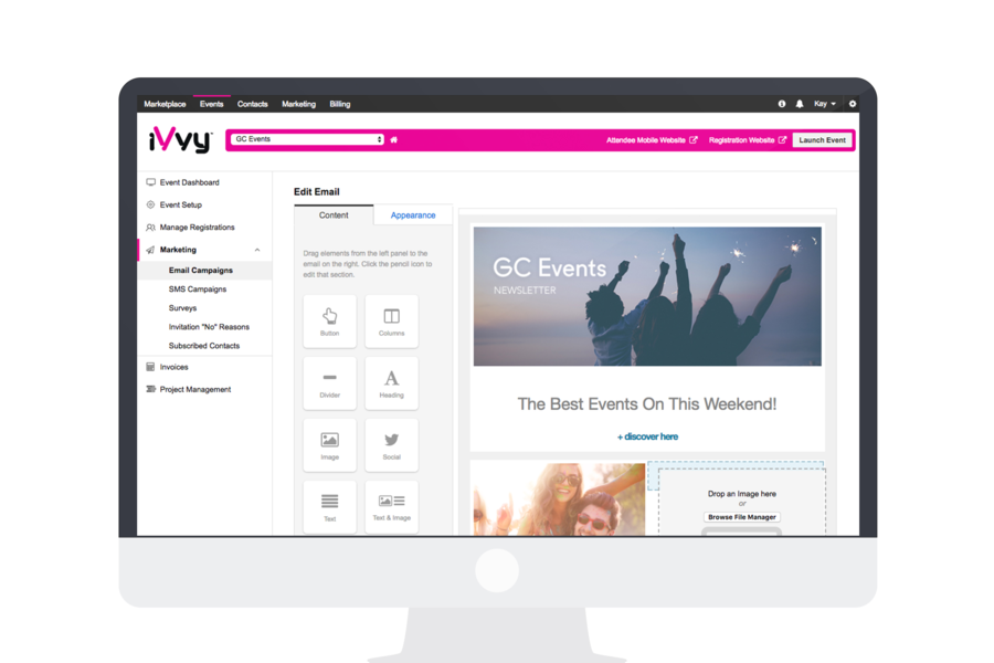 iVvy Events