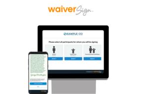 WaiverSign screenshot