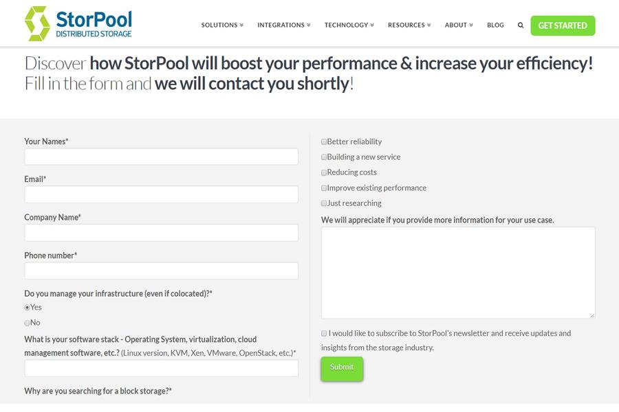 StorPool Storage