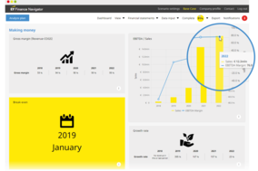 EY Finance Navigator screenshot