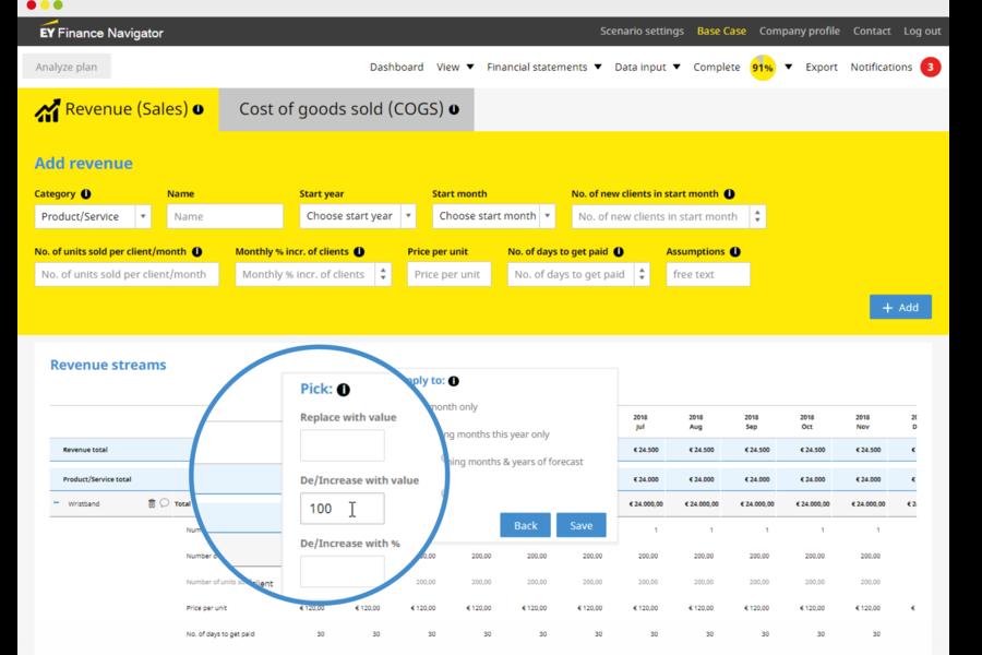 EY Finance Navigator