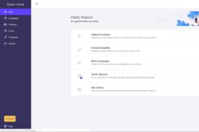 Elastic Email screenshot