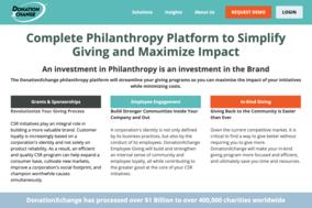 DonationXchange screenshot