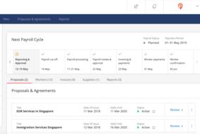 Papaya Global screenshot