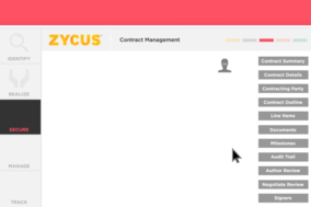 Zycus Contract Management screenshot