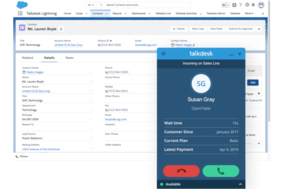 Talkdesk screenshot
