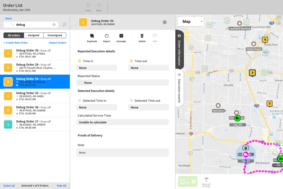 WorkWave Route Manager screenshot