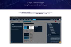 TestProject screenshot