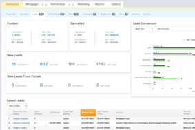 BNTouch Mortgage CRM screenshot