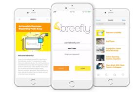 Breefly screenshot