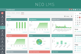 NEO LMS screenshot