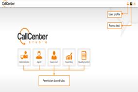Call Center Studio screenshot