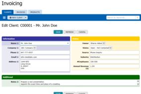 TeamDesk screenshot
