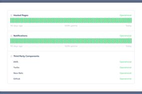 Statuspage screenshot