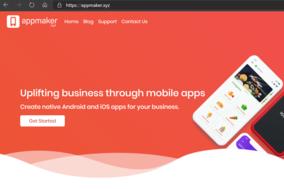 appmaker.xyz screenshot