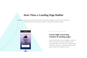Leadpages screenshot