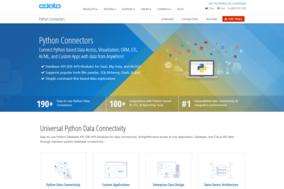 CData Python Connectors screenshot