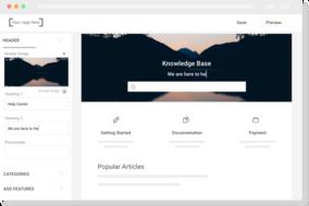 ProProfs Knowledge Base screenshot