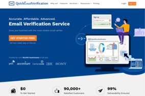 QuickEmailVerification screenshot