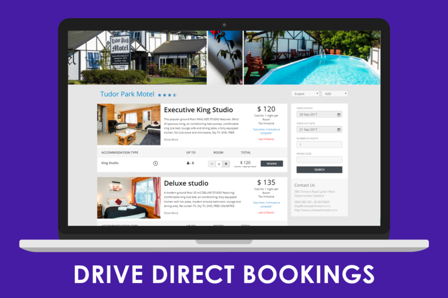 STAAH Booking Engine