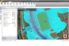 GeoHECRAS screenshot