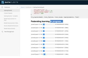 DataFleets screenshot