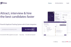 100Hires screenshot