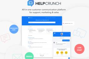 HelpCrunch screenshot