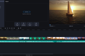 Movavi Video Editor Plus screenshot