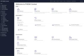 PHEMI Health DataLab screenshot