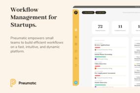 Pneumatic Workflow screenshot