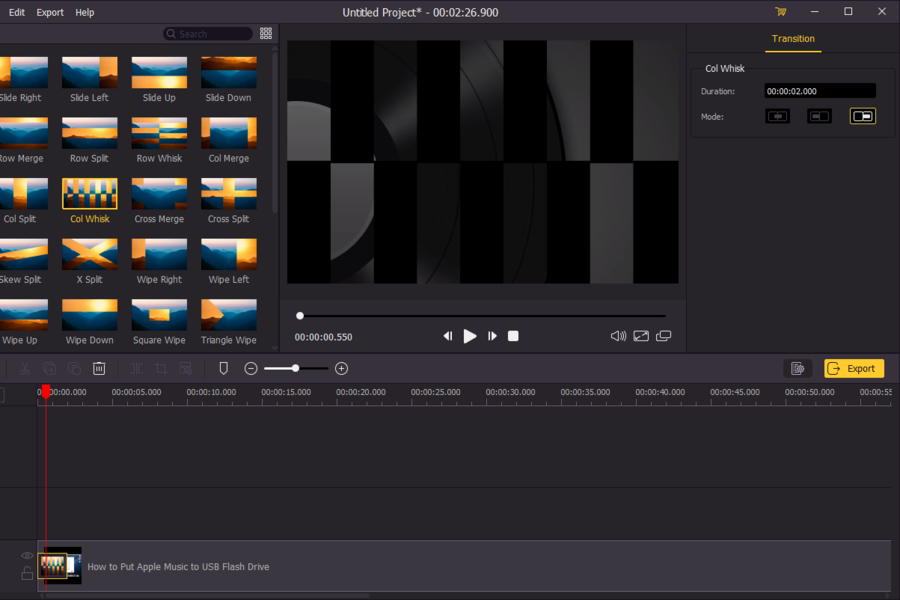 TunesKit AceMovi Video Editor