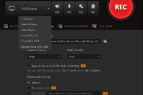 iFun Screen Recorder screenshot