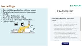 Exam Online screenshot