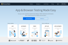 BrowserStack screenshot